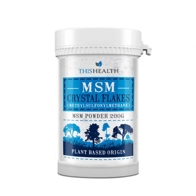 MSM Canadian Crystal Flakes. -  200g